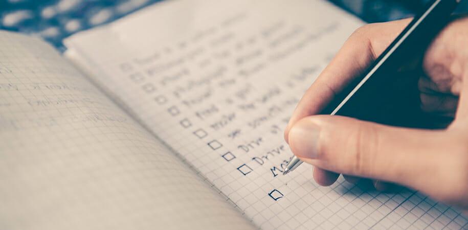 La check-liste ULTIME pour ne rien oublier avant de partir en vacances