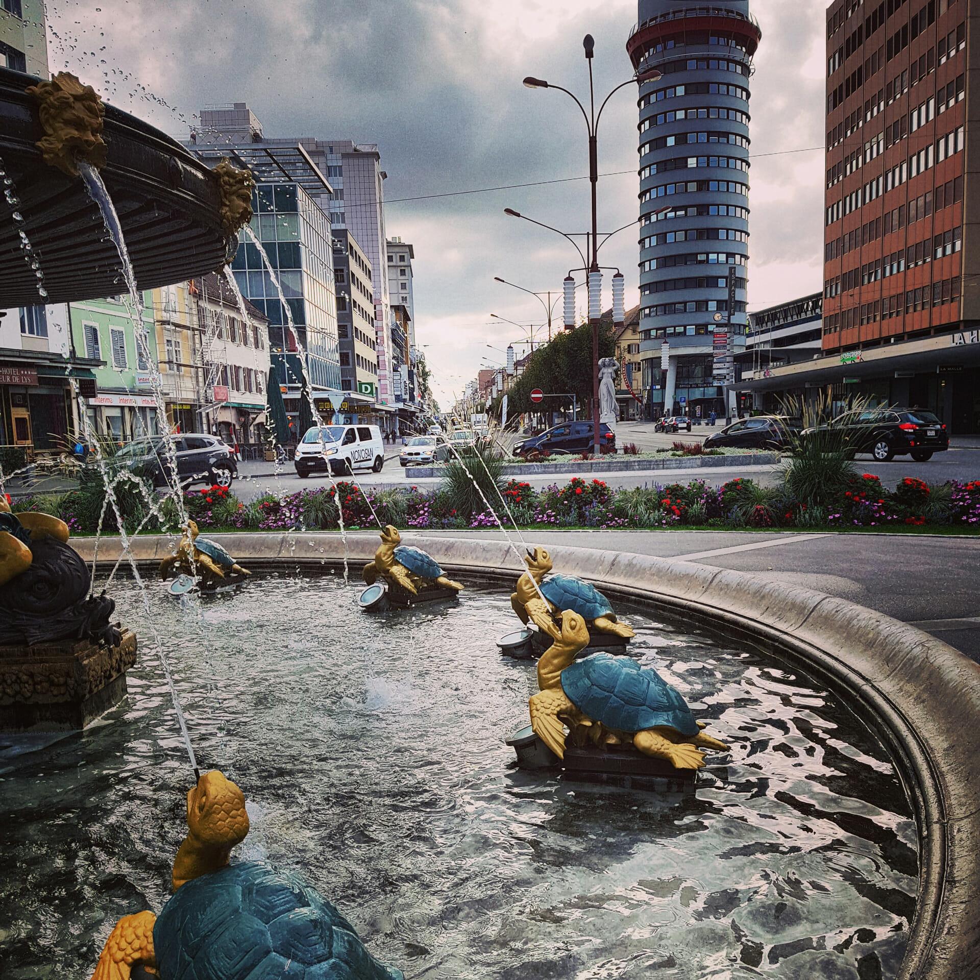 Grande fontaine la chaux de fonds