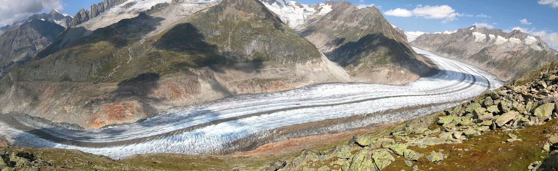 Randonne au glacier d'aletsch