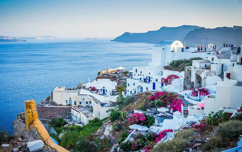 Santorin en Grèce