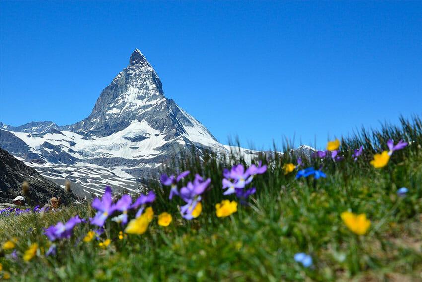 Vue sur Zermatt Suisse