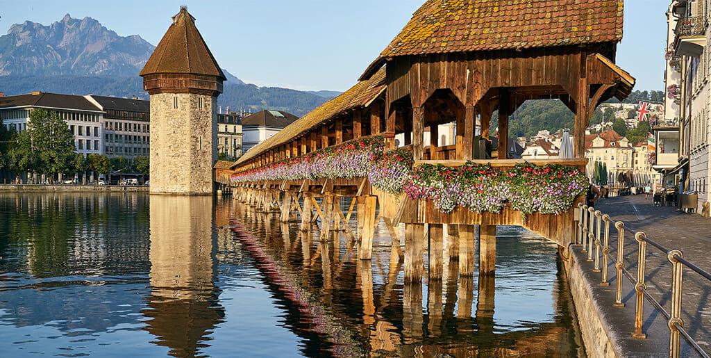 Visiter la ville de lucerne et environs