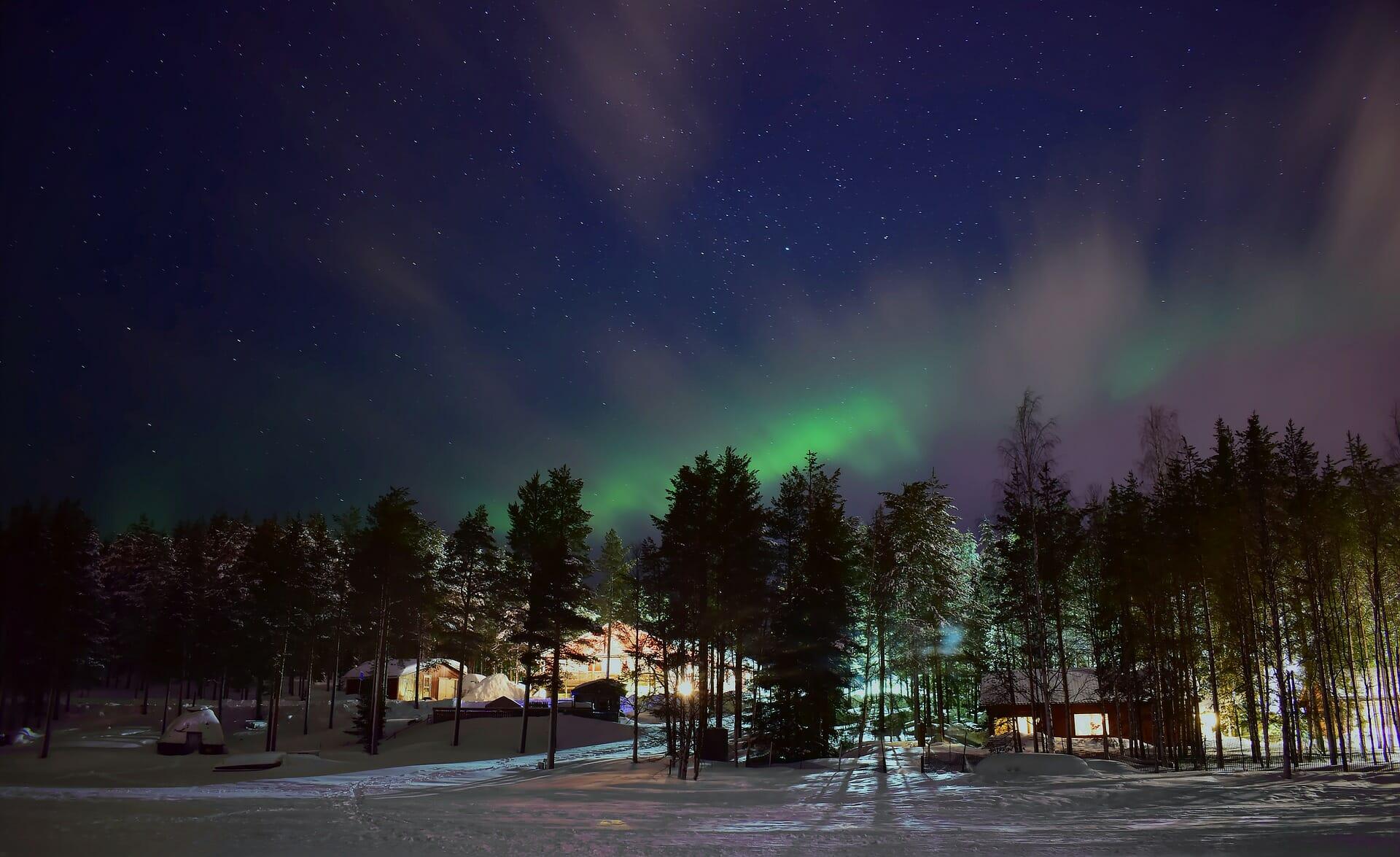 Passer les vacances en Laponie Finlandaise