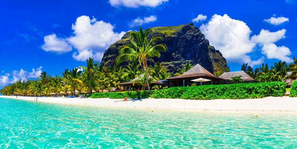 La plage de l'hôtel